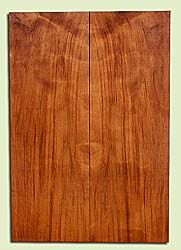 "RWES42774 - Redwood, Solid Body Guitar Fat Drop Top Set, Very Fine Grain Salvaged Old Growth, Excellent Color & Curl, Exquisite Guitar Wood, 2 panels each 0.39"" x 7.875"" x 22.625"", S2S"