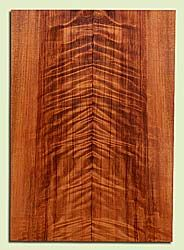 "RWES42775 - Redwood, Solid Body Guitar Fat Drop Top Set, Very Fine Grain Salvaged Old Growth, Excellent Color & Curl, Exquisite Guitar Wood, Minor End Checkss, 2 panels each 0.39"" x 8.25"" x 23"", S2S"