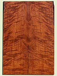 "RWES42777 - Redwood, Solid Body Guitar Fat Drop Top Set, Very Fine Grain Salvaged Old Growth, Excellent Color & Curl, Exquisite Guitar Wood, 2 panels each 0.4"" x 7.875"" x 22.5"", S2S"
