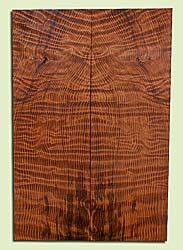 "RWES42786 - Redwood, Solid Body Guitar Drop Top Set, Very Fine Grain Salvaged Old Growth, Excellent Color & Curl, Exquisite Guitar Wood, 2 panels each 0.27"" x 7.875"" x 23.75"", S2S"