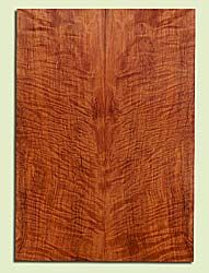 "RWES42796 - Redwood, Solid Body Guitar Fat Drop Top Set, Very Fine Grain Salvaged Old Growth, Excellent Color & Curl, Exquisite Guitar Wood, 2 panels each 0.33"" x 8"" x 22.75"", S2S"