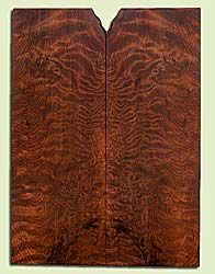 "RWES42902 - Redwood, Solid Body Guitar Drop Top Set, Very Fine Grain Salvaged Old Growth, Excellent Color & Curl, Exquisite Guitar Wood, 2 panels each 0.27"" x 7.875"" x 21.5"", S2S"
