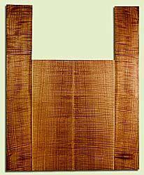 """MAAS43003 - Western Big Leaf Maple, Acoustic Guitar Back & Side Set, Fine Grain, Excellent Color& Figure, RareGuitar Wood, 2 panels each 0.92"""" x 8.875"""" x 24"""", S2S, and 2 panels each 0.17"""" x 5.625"""" x 35.875"""", S2S"""
