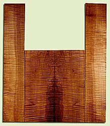"""MAAS43018 - Western Big Leaf Maple, Acoustic Guitar Back & Side Set, Fine Grain, Excellent Color& Figure, RareGuitar Wood, 2 panels each 0.18"""" x 9"""" x 24"""", S2S, and 2 panels each 0.16"""" x 6.5"""" x 35.875"""", S2S"""