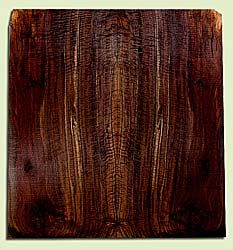 """WAES43355 - Claro Walnut, Solid Body Guitar Drop Top Set, Salvaged from Commercial Grove, Excellent Color, Eco-FriendlyGuitar Wood, Extra Wide set.  Bark inclusions and checks outside of layout, 2 panels each 0.3"""" x 10 to 10.75"""" x 22"""", S2S"""