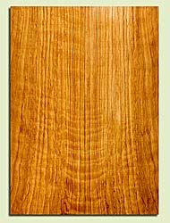 """CDES43545 - Port Orford Cedar, Solid Body Guitar Drop Top Set, Salvaged Old Growth, Excellent Color& Curl, OutstandingGuitar Wood, 2 panels each 0.28"""" x 7.625"""" x 21.5"""", S2S"""