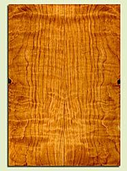 """CDES43549 - Port Orford Cedar, Solid Body Guitar Drop Top Set, Salvaged Old Growth, Excellent Color& Curl, OutstandingGuitar Wood, Note: There is a knot in this set, 2 panels each 0.28"""" x 7.75"""" x 22.125"""", S2S"""