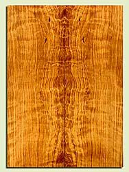 """CDES43550 - Port Orford Cedar, Solid Body Guitar Drop Top Set, Salvaged Old Growth, Excellent Color& Curl, OutstandingGuitar Wood, 2 panels each 0.27"""" x 7.875"""" x 22"""", S2S"""