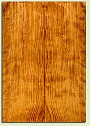 """CDES43551 - Port Orford Cedar, Solid Body Guitar Drop Top Set, Salvaged Old Growth, Excellent Color& Curl, OutstandingGuitar Wood, 2 panels each 0.27"""" x 7.625"""" x 22"""", S2S"""