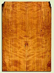 """CDES43553 - Port Orford Cedar, Solid Body Guitar Drop Top Set, Salvaged Old Growth, Excellent Color& Curl, OutstandingGuitar Wood, 2 panels each 0.26"""" x 7.875"""" x 22.25"""", S2S"""