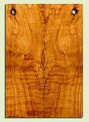 """CDES43557 - Port Orford Cedar, Solid Body Guitar Drop Top Set, Salvaged Old Growth, Excellent Color& Curl, OutstandingGuitar Wood, Note: There is a knot in this set, 2 panels each 0.23"""" x 7.5"""" x 22"""", S2S"""