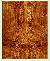"MAES43561 - Western Big Leaf Maple, Solid Body Guitar Fat Drop Top Set, Med. Grain, Excellent Color & Curl, Amazing Guitar Wood, 2 panels each 0.47"" x 7.875"" x 20.5"", S2S"