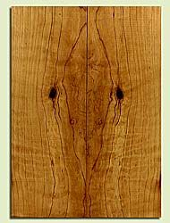 """CDES43567 - Port Orford Cedar, Solid Body Guitar Drop Top Set, Med. to Fine Grain, Excellent Color, Highly ResonantGuitar Wood, Note: There is a knot in this set, 2 panels each 0.28"""" x 7.75"""" x 21.75"""", S2S"""