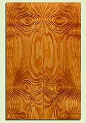 "DFES43762 - Douglas Fir, Solid Body Guitar Drop Top Set, Med. Grain Salvaged Old Growth, Excellent Color & Contrast, Exquisite Guitar Wood, Note: There is a knot and checks in this set, 2 panels each 0.27"" x 7.625"" x 23.25"", S2S"