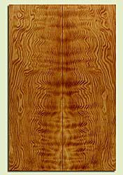 "DFES43763 - Douglas Fir, Solid Body Guitar Drop Top Set, Med. Grain Salvaged Old Growth, Excellent Color & Contrast, Exquisite Guitar Wood, 2 panels each 0.27"" x 7.5"" x 23.25"", S2S"