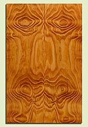 "DFES43767 - Douglas Fir, Solid Body Guitar Drop Top Set, Med. Grain Salvaged Old Growth, Excellent Color & Contrast, Exquisite Guitar Wood, 2 panels each 0.27"" x 7.625"" x 23.25"", S2S"