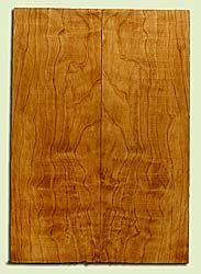 "CDES43911 - Port Orford Cedar, Solid Body Guitar Drop Top Set, Med. to Fine Grain, Excellent Color, OutstandingGuitar Wood, 2 panels each 0.29"" x 7.75"" x 22.125"", S2S"