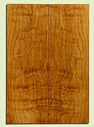 "CDES43912 - Port Orford Cedar, Solid Body Guitar Drop Top Set, Med. to Fine Grain, Excellent Color, OutstandingGuitar Wood, 2 panels each 0.26"" x 7.625"" x 22.125"", S2S"