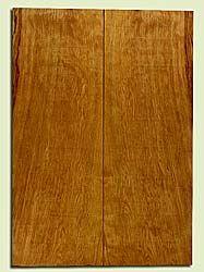 "CDES43915 - Port Orford Cedar, Solid Body Guitar Drop Top Set, Med. to Fine Grain, Excellent Color, OutstandingGuitar Wood, 2 panels each 0.26"" x 8.25"" x 23.5"", S2S"
