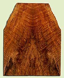 """MAES43920 - Western Big Leaf Maple, Solid Body Guitar Drop Top Set, Med. to Fine Grain, Excellent Color, OutstandingGuitar Wood, Note: This set has checks and old insect damage., 2 panels each 0.23"""" x 4.75 to 8.125"""" x 20.625"""", S2S"""