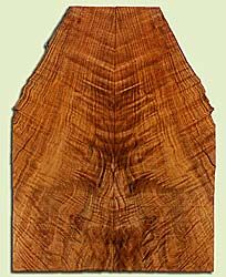 """MAES43934 - Western Big Leaf Maple, Solid Body Guitar Drop Top Set, Med. to Fine Grain, Excellent Color, OutstandingGuitar Wood, Note:  This set has checks., 2 panels each 0.26"""" x 4 to 8.125"""" x 21.375"""", S2S"""