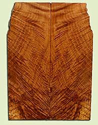 """MAES43991 - Western Big Leaf Maple, Solid Body Guitar Fat Drop Top Set, Med. to Fine Grain, Excellent Color, OutstandingGuitar Wood, Note:  This set has checks and bark inclusions., 2 panels each 0.32"""" x 8.25"""" x 23.125"""", S2S"""