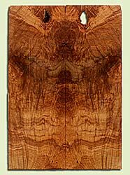 """MAES43998 - Western Big Leaf Maple, Solid Body Guitar Fat Drop Top Set, Med. to Fine Grain, Excellent Color, OutstandingGuitar Wood, Note:  This set has checks, voids and bark inclusions., 2 panels each 0.38"""" x 8"""" x 23.125"""", S2S"""