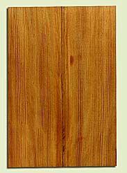 "DFEB44123 - Douglas Fir, Solid Body Guitar Body Blank, Med. to Fine Grain, Excellent Color, OutstandingGuitar Wood, 2 panels each 1.82"" x 7.75"" x 23.25"", S2S"