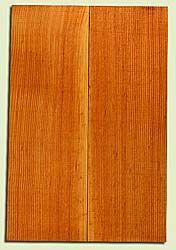 "DFEB44126 - Douglas Fir, Solid Body Guitar Body Blank, Med. to Fine Grain, Excellent Color, OutstandingGuitar Wood, 2 panels each 1.95"" x 7.75"" x 23.25"", S2S"