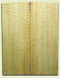 "CDES06953 - Rare Curly Port Orford Cedar Solid Body Guitar Top Set, Medium to Good Figure, Salvaged Old Growth, Excellent Tap Tone, Strat or Bass Guitar size.  2 panels each  .25"" x 9"" x 24""  S1S  Superior Guitar Wood"