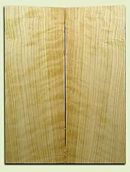 """CDES06961 - Rare Curly Port Orford Cedar Solid Body Guitar Top Set, Good Figure, Salvaged Old Growth, Excellent Tap Tone, Strat or Bass Guitar size.  2 panels each  .30"""" x 8"""" x 21.5""""  S1S  Superior Guitar Wood"""