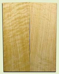 "CDES06963 - Rare Curly Port Orford Cedar Solid Body Guitar Top Set, Good Figure, Salvaged Old Growth, Excellent Tap Tone, Strat or Bass Guitar size.  2 panels each  .28"" x 8"" x 20.5""  S1S  Superior Guitar Wood"