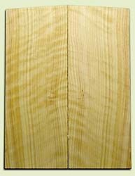 "CDES06970 - Rare Curly Port Orford Cedar Solid Body Guitar Top Set, Good Figure, Salvaged Old Growth, Excellent Tap Tone, Strat or Bass Guitar size.  2 panels each  .20"" x 8"" x 20.5""  S1S  Superior Guitar Wood"