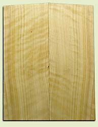 "CDES06971 - Rare Curly Port Orford Cedar Solid Body Guitar Top Set, Good Figure, Salvaged Old Growth, Excellent Tap Tone, Strat or Bass Guitar size.  2 panels each  .20"" x 8"" x 20.5""  S1S  Superior Guitar Wood"