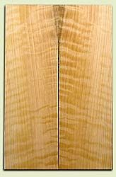 "CDES06979 - Rare Curly Port Orford Cedar Solid Body Guitar Top Set, Very Good Figure, Salvaged Old Growth, Excellent Tap Tone, Strat or Bass Guitar size.  2 panels each  .24"" x 7.5"" x 23.5""  S1S  Superior Guitar Wood"