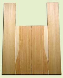 """DFAS07028 - Douglas Fir Acoustic Guitar Back & Side Set, Light Curl, Fine Grain Old Growth, Awesome Tap Tone, Dreadnought size.  2 panels each  .16"""" x 8"""" x 24"""" and 2 panels each  .15"""" x 6"""" x 36""""  S1S  Outstanding Guitar Wood"""