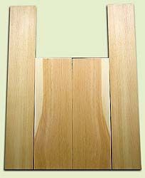 "DFAS07030 - Douglas Fir Acoustic Guitar Back & Side Set, Light Curl, Fine Grain Old Growth, Awesome Tap Tone, Dreadnought size.  2 panels each  .16"" x 8"" x 24"" and 2 panels each  .15"" x 6"" x 36""  S1S  Amazing Guitar Wood"