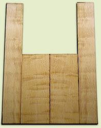 """DFAS07247 - Curly Douglas Fir Acoustic Guitar Back & Side Set, Good Curl, Fine Grain Old Growth, Awesome Tap Tone, OM or Classical size.  2 panels each  .20"""" x 8"""" x 20"""" and 2 panels each  .16"""" x 5"""" x 36""""  S1S  Very Eco-Friendly Guitar Wood"""
