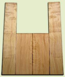 "DFAS07251 - Curly Douglas Fir Acoustic Guitar Back & Side Set, Good Figure, Fine Grain Old Growth, Awesome Tap Tone, OM or Classical size.  2 panels each  .20"" x 8"" x 20"" and 2 panels each  .17"" x 6"" x 36""  S1S  Amazing Guitar Wood"