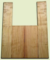 """DFAS07252 - Curly Douglas Fir Acoustic Guitar Back & Side Set, Good Figure, Fine Grain Old Growth, Awesome Tap Tone, OM or Classical size.  2 panels each  .20"""" x 8"""" x 20"""" and 2 panels each  .17"""" x 6"""" x 36""""  S1S  Amazing Guitar Wood"""