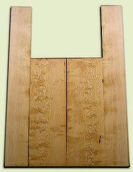 """DFAS07262 - Curly Douglas Fir Acoustic Guitar Back & Side Set, Good Figure, Fine Grain Old Growth, Awesome Tap Tone, Dreadnought size.  2 panels each  .20"""" x 8"""" x 23.5"""" and 2 panels each  .17"""" x 6"""" x 36""""  S1S  Rare Guitar Wood"""