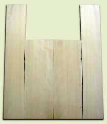"""CDAS08256 - Curly Port Orford Cedar Acoustic Guitar Back and Side Set, Medium Grain Salvaged Old Growth, Excellent Stiffness and Tap Tone, Clean Dreadnought Layout.   2 panels each .20"""" x 8.5"""" x 24"""" and 2 panels each .17"""" x 6"""" x 35"""" S1S  Exceptional Luthi"""