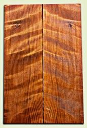 "RWES09236 - Curly Redwood Guitar Top Set for Les Paul or Bass, Good Figure, Excellent Color, Salvaged Old Growth. 2 panels each .68"" x 7"" x 22"" S1S  Very Cool Guitar wood"
