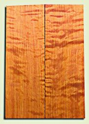 "RWES09526 - Curly Redwood Solid Body Guitar Top Set, Light to Medium Figure, Fine Grain Salvaged Old Growth, Strat  size. 2 panels each .24"" x 6.75"" x 19.75"" S1S amazing Guitar Wood"