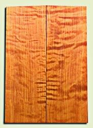 "RWES09527 - Curly Redwood Solid Body Guitar Top Set, Light to Medium Figure, Fine Grain Salvaged Old Growth, Strat  size. 2 panels each .24"" x 6.75"" x 19.75"" S1S amazing Guitar Wood"
