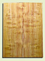 "DFES09953 - Rare Curly Douglas Fir Drop Top Set, Very Good Figure, 3/4 Sawn, Old Growth, Strat or Bass Guitar size.  2 panels each  .24"" x 8"" x 22""  S1S   Exceptional Guitar Wood"